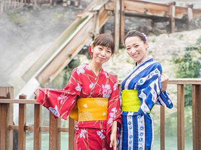 草津温泉のドレスコードは浴衣でしょ!