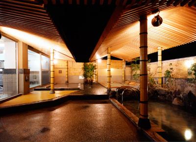 天然温泉 極楽湯 茨木店
