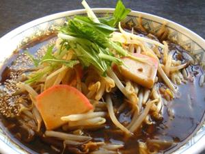 くりひら風サンマー麺