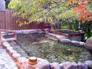 天然温泉 長生の湯 露天風呂