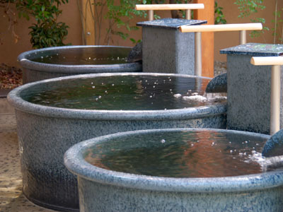 松竹温泉 天風の湯 壺風呂