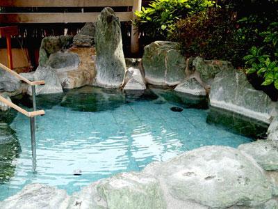 松竹温泉 天風の湯 露天風呂