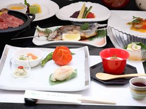 王ヶ頭ホテル 夕食