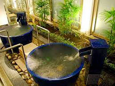 天然温泉 ひなたの湯 壺湯