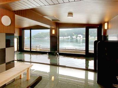 山岸旅館 湖上風呂