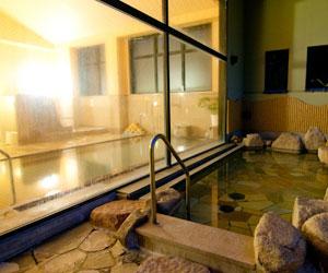 内風呂と露天風呂