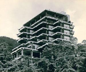 1968年当時の箕面観光ホテル