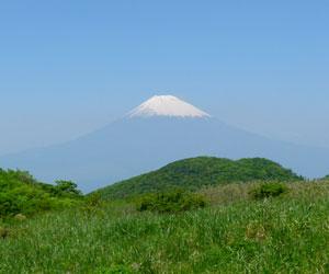駒ヶ岳から富士山