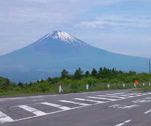 箱根スカイラインから富士山