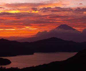 MAZDA ターンパイク箱根から富士山