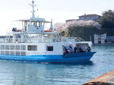 尾道水道の渡船