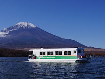 わかさぎドーム船(魚安 丸光ボート)