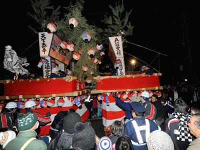 御影新田の道祖神祭り