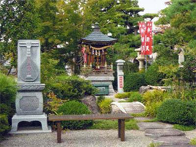 甲斐石和温泉 七福神霊場