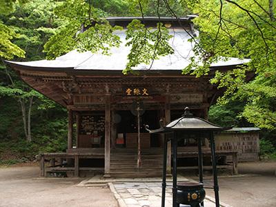 文殊堂(県宝)