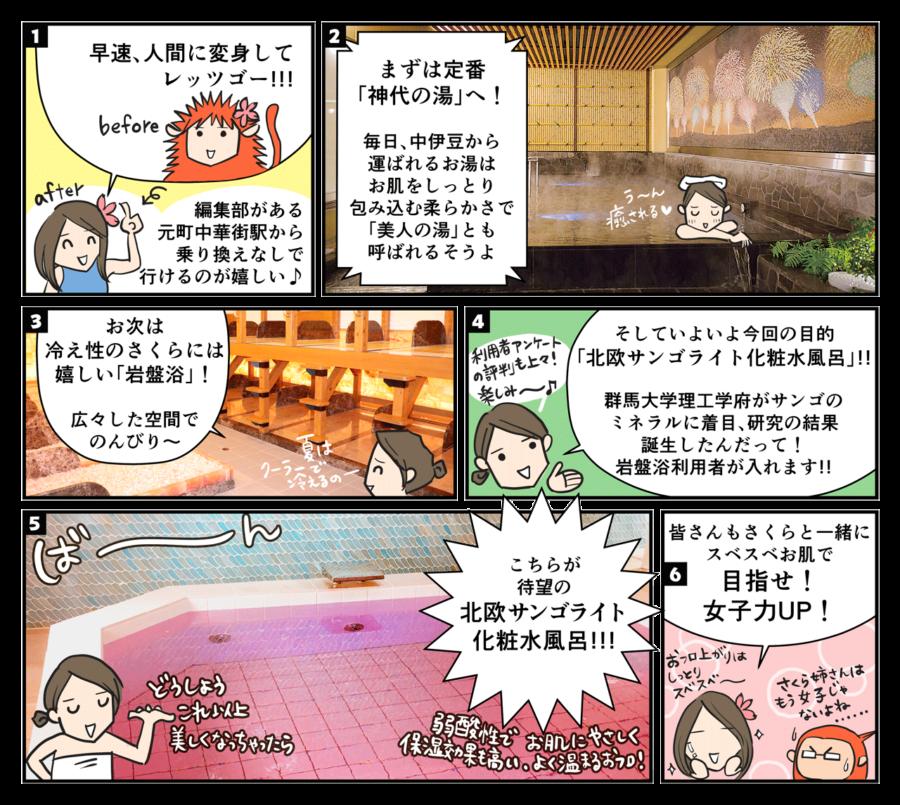 漫画版!「東京新宿天然温泉 テルマー湯」