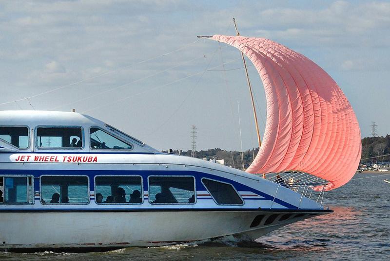 観光帆引き船操業