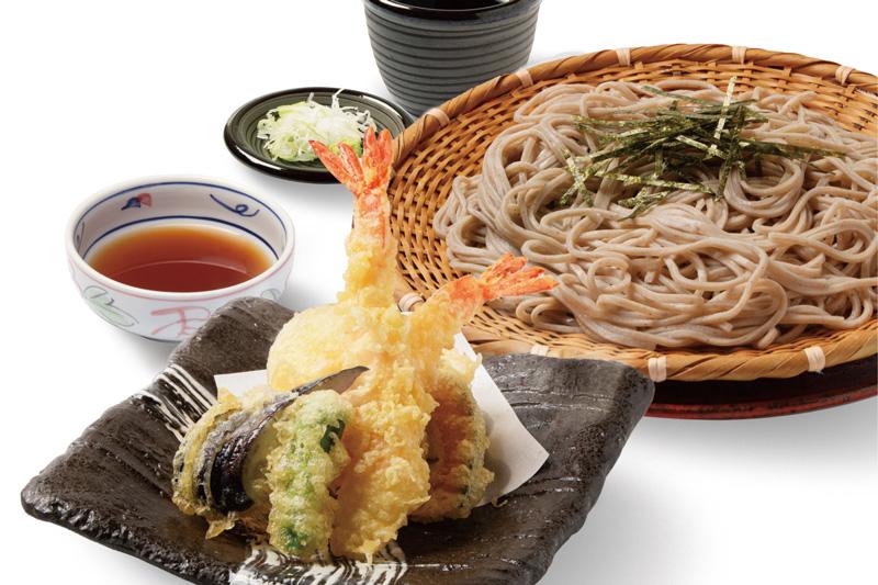 幕張温泉 湯楽の里 大海老天ぷら蕎麦