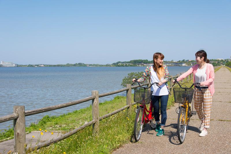 柴山潟サイクリングロード