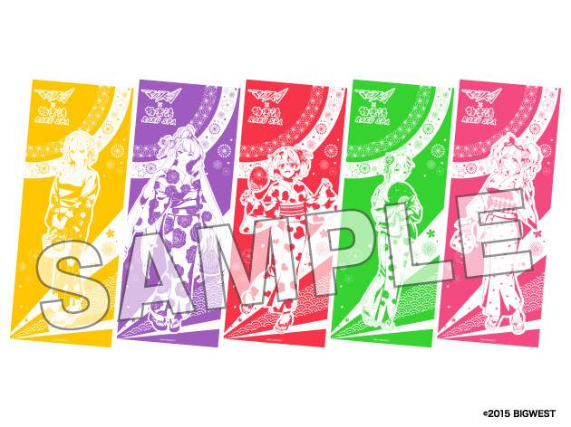 マクロスΔ×極楽湯コラボキャンペーン「ワルキ湯~レ 極楽LIVE!!!!!!」本日より開催!
